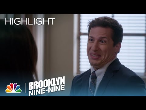 Jake Shows Amy His Innocent Face | Season 4 Ep. 22 | BROOKLYN NINE-NINE