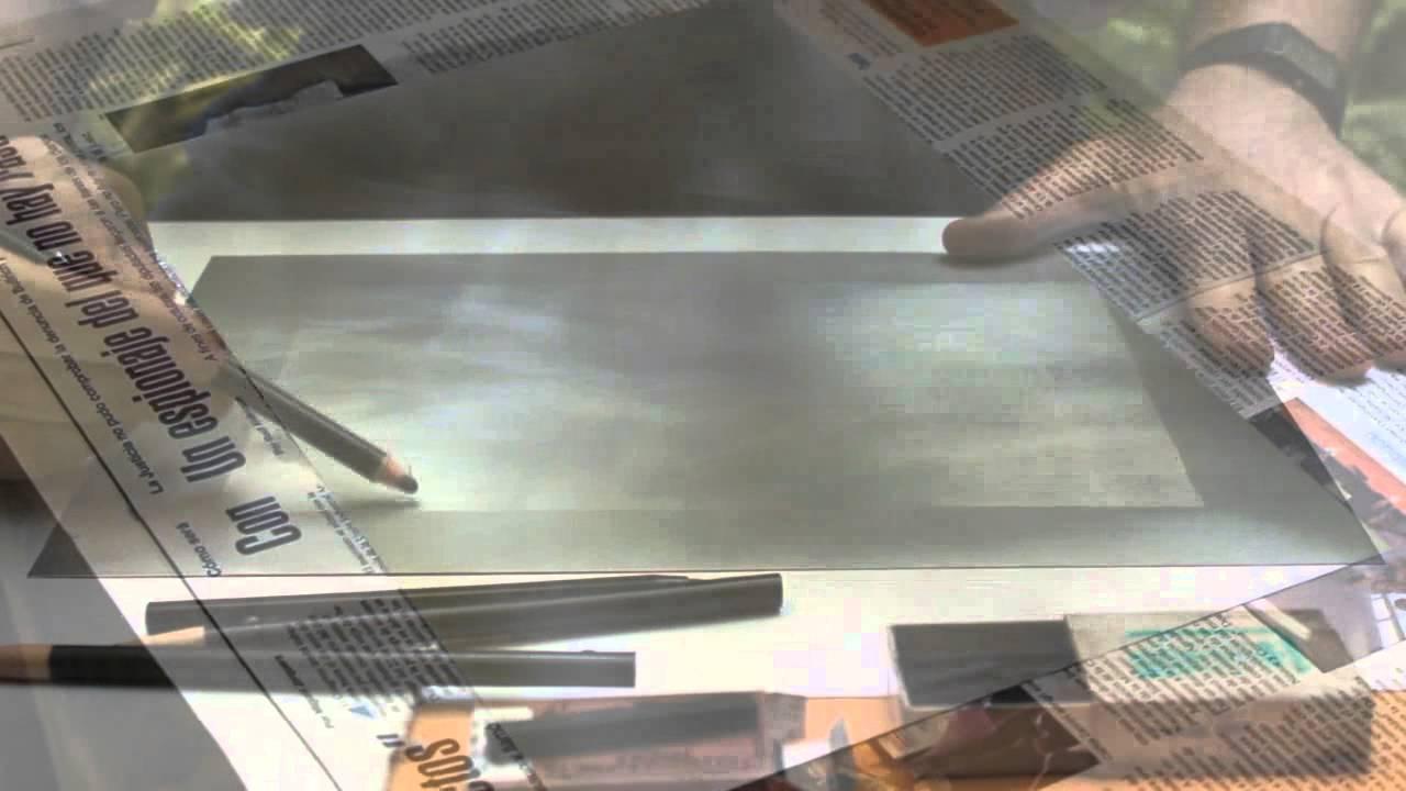 Litograf a en plancha de metal youtube - Planchas de metal ...