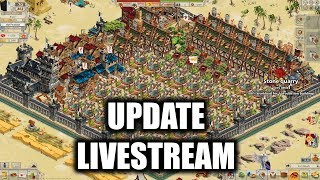 Channel News, Shapeshifters, Time Skips, and More! (Goodgame Empire Update Stream)