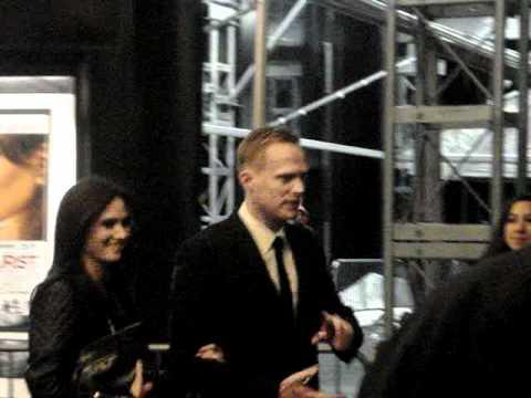 Premiere The Tourist : Paul Bettany, Jennifer Connelly!!!!!