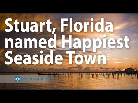 Stuart, Florida named Happiest Seaside Town
