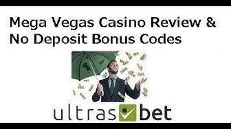 Mega Vegas Casino Review & No Deposit Bonus Codes 2019