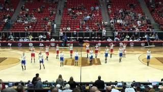 Coronado Dance Team - Mountain West Conference Tournament - TKO