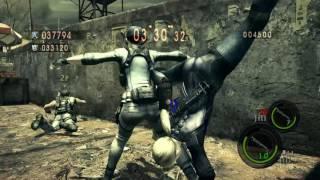 Resident Evil 5 versus jill e jill vs chris e sheva