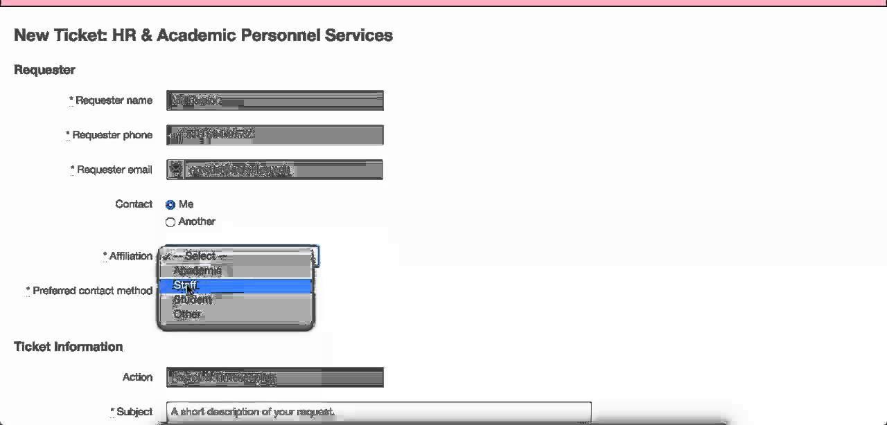 Css HrAps Service Request Form  Youtube