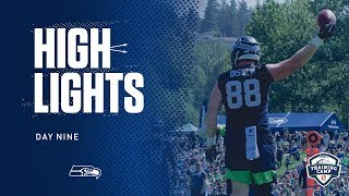 Seahawks 2019 Training Camp Day 9 Highlights