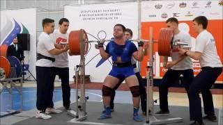 Kuzmin Evgeniy squat 380kg@93kg. Championship of Russia 2016(, 2016-08-15T13:56:25.000Z)