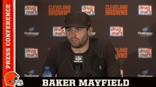 Baker Mayfield Postgame Press Conference vs. Jets | Cleveland Browns
