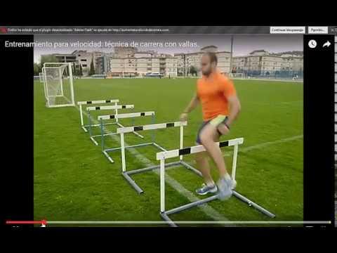 Circuito Agilidad Cnp : Ejercicios con vallas para mejorar en el circuito de agilidad de