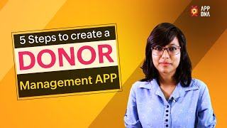 Donor Management App for beginners in coding