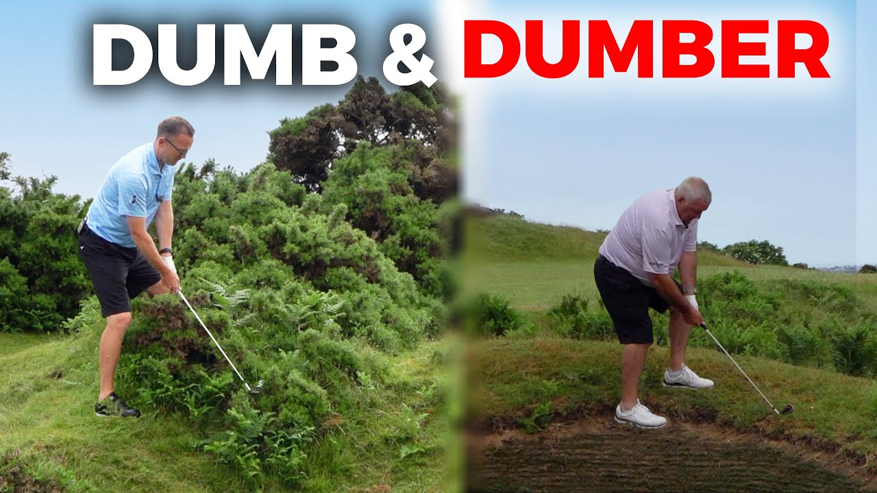 THE WORST GOLFERS ON YOU TUBE - dumb & dumber 😂