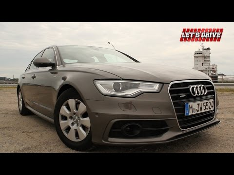 Audi A6 3.0 TDI 204PS [2014]  im Test | Fahrbericht | On the Road   // Let's Drive //