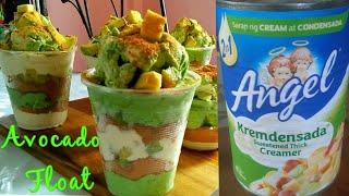 Avocado Ice cream Float in a cup/Avocado Parfait