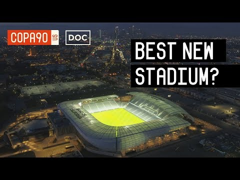Is This The Coolest New Stadium In The World?