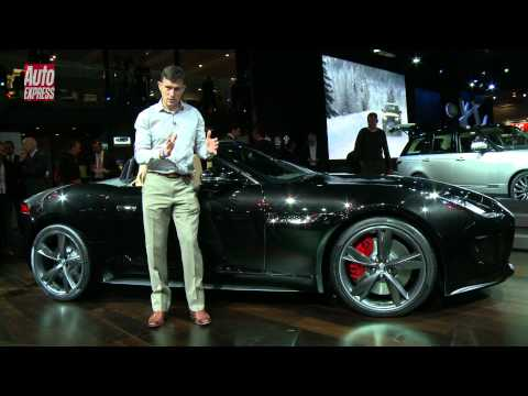 Jaguar F-Type at the 2012 Paris Motor Show - Auto Express