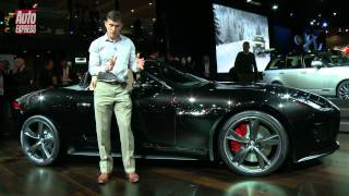 Jaguar F-Type at the 2012 Paris Motor Show - Auto Express