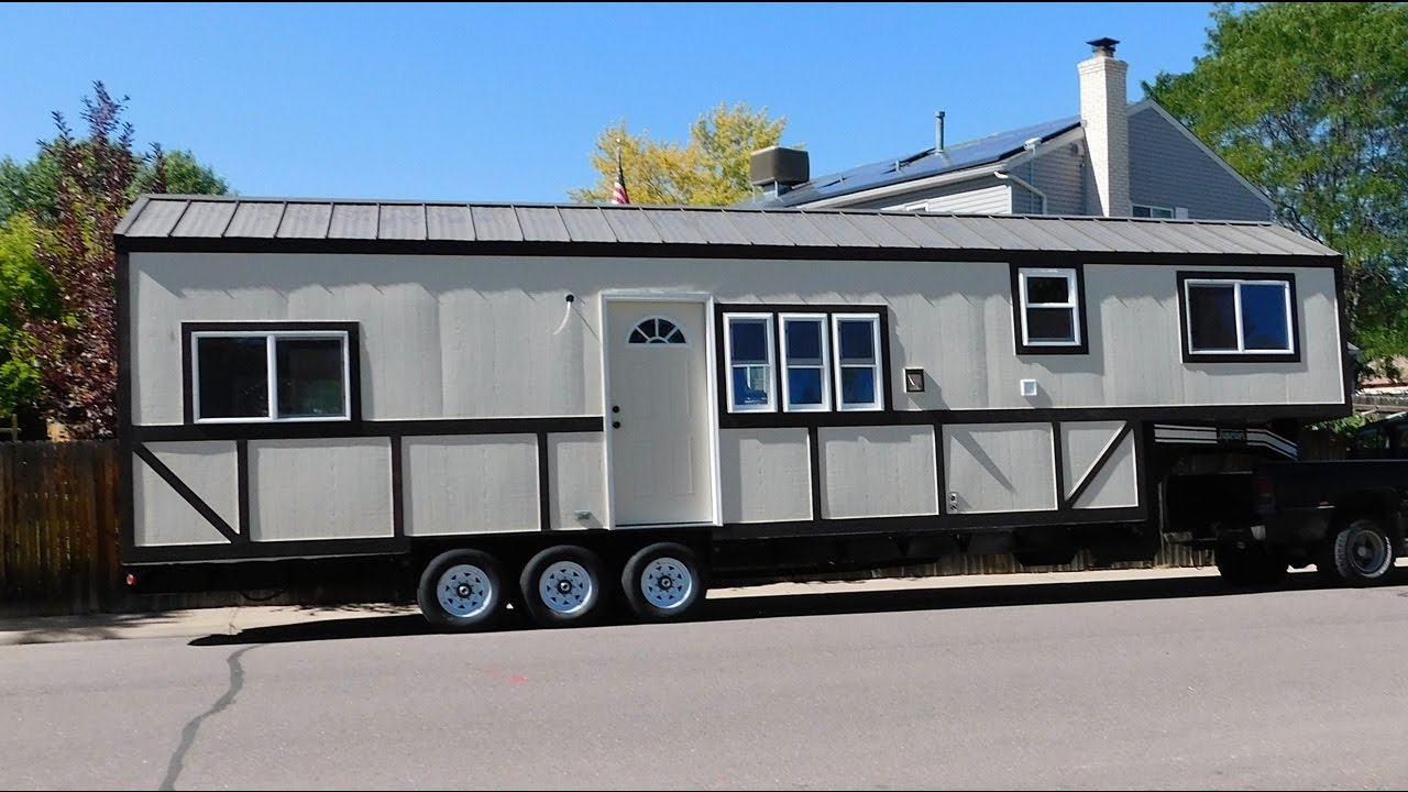 Three Bedrooms In A Tiny House Youtube