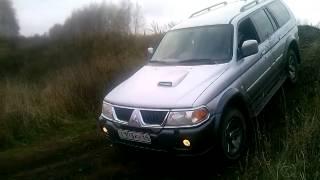Вывешивание Жоры (pajero sport diesel)