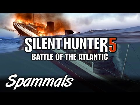 Silent Hunter 5 | Part 2 | SINKING QUEEN MARY!