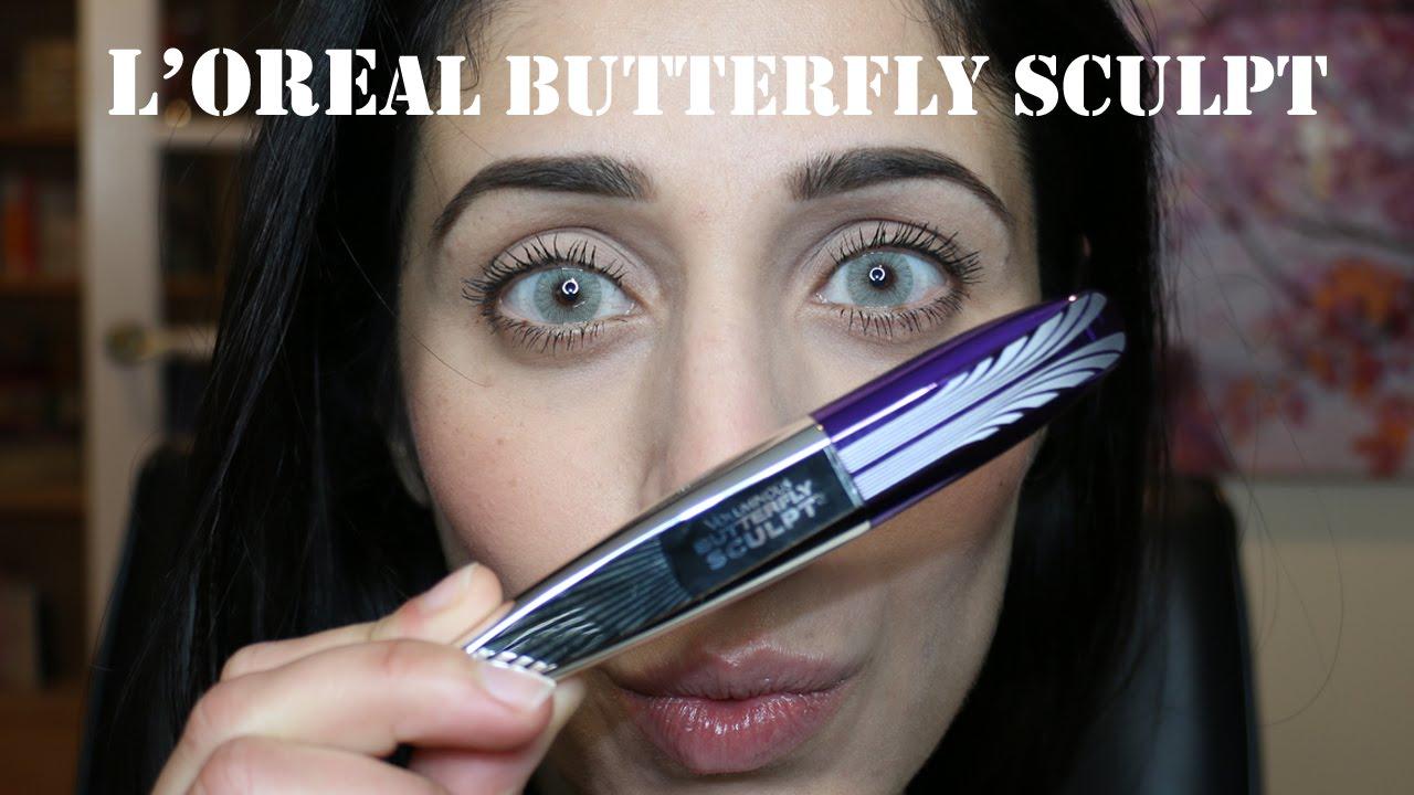 2e1bcaccc71 L'OREAL Voluminous Butterfly Sculpt Mascara   REVIEW - YouTube