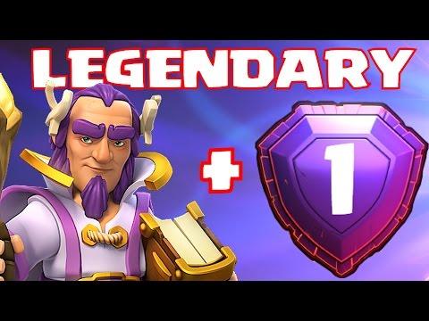 Clash Of Clans - LEGENDARY GRAND WARDEN RAIDS!!! (Pro Gameplay)