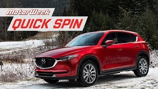 2019 Mazda CX-5 | MotorWeek Quick Spin