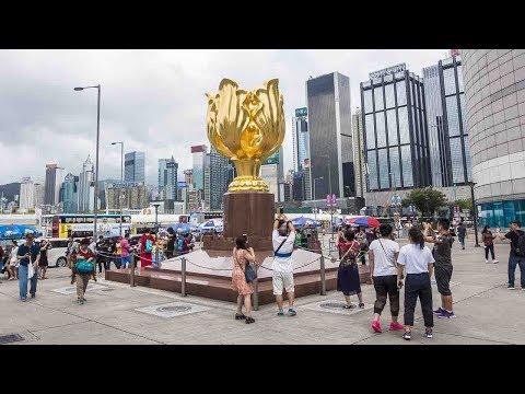 20th anniversary Hong Kong: Public reaction to President Xi Jinping