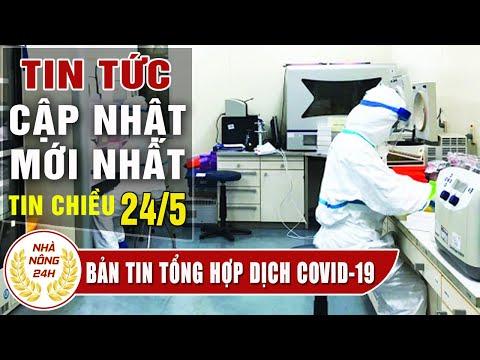 Diễn biến dịch corona chiều 24/5 Tình hình dịch covid-19 Việt Nam  Cập nhật tin virus corona