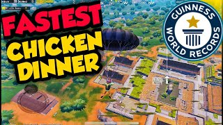 Download lagu FASTEST CHICKEN DINNER IN PUBG MOBILE MP3