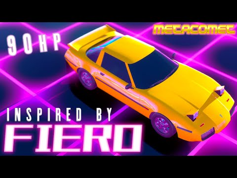 Inspired by Fiero | Automation / BeamNG.Drive