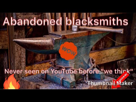 Abandoned Blacksmiths east sussex, previously unseen before on youtube 21/3/18