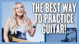 Practice Guitar the RIGHT WAY w/ Exercises (feat. @Lindsay Ell)