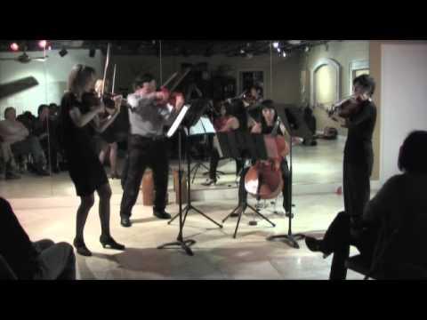 Shostakovich No 8 OP 110 Allegro Molto by String Quartet Meridian Ensemble