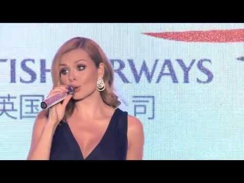 Watch Katherine Jenkins stunning performance at British Airways garden party in Shanghai