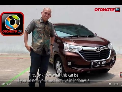 Pilihan Warna Grand New Avanza 2015 Brand Camry 2016 Price Toyota 1 3 G Test Drive Manualnya Lebih Menyenangkan Youtube