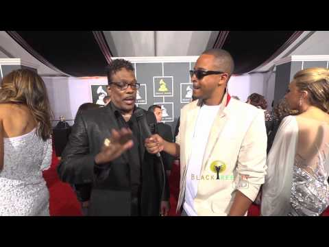 Charlie Wilson talks about You Dropped a Bomb on Me at The Grammys
