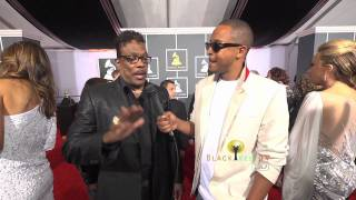 Charlie Wilson talks about 'You Dropped a Bomb on Me' at The Grammy's