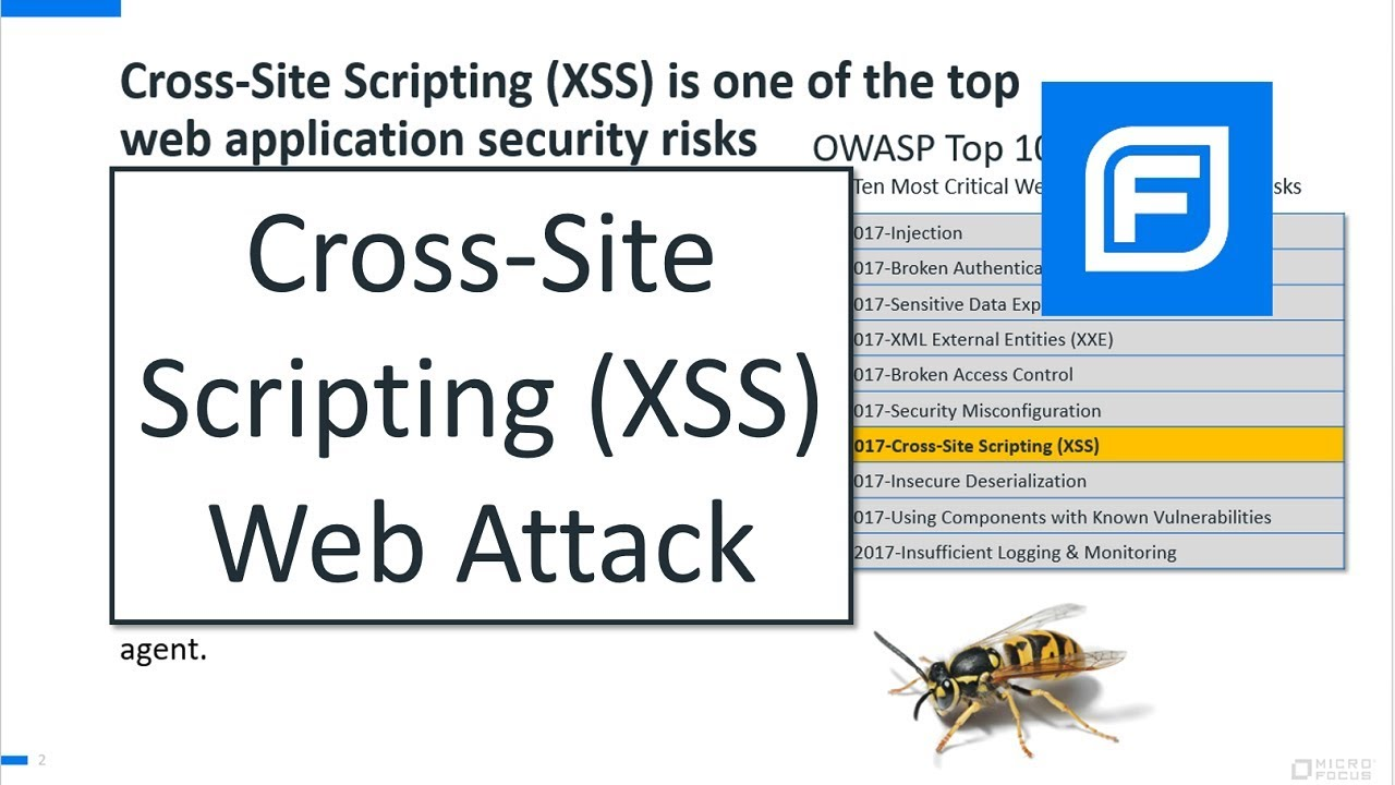 Cross-Site Scripting (XSS) Web Attack (Live Demonstration for AppSec)