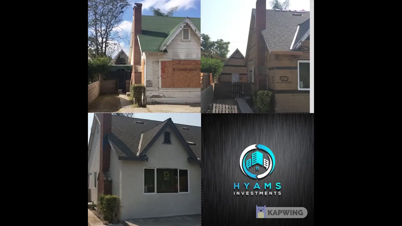 Rehab rescue of a great little CA house. We buy houses in Los Angeles & We buy houses Bakersfield