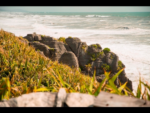 Mega interessant und lustig! Pancake Rocks   New Zealand Travel Vlog #35