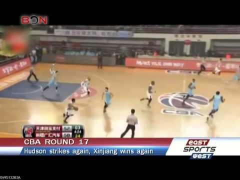 Lester Hudson strikes again: Xinjiang 95, Tianjin 93 -- East West Sports 203