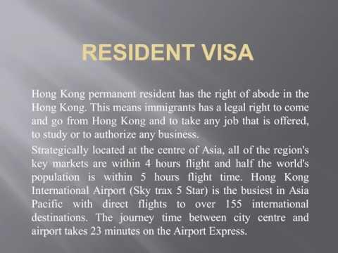 hong kong permanent resident visa