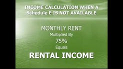 Rental Income Guidelines