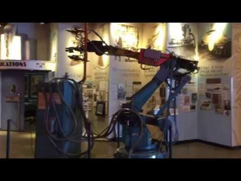 GM Winsheild Installation Industrial Robot T3-696 - Baltimore Museum Of Industry