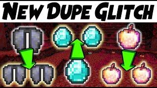 NEW DUPE GLITCH 1.16.0-1.16.2 Minecraft Survival Servers!