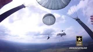 Through the Eyes of a Paratrooper: 173rd Airborne Jumps in Ukraine during Rapid Trident 2011