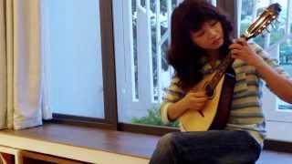 Kim Chung with Mandolin.