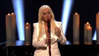 Christina Aguilera - Blank Page People's Choice Awards 2013 (Live) HD