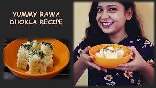 rawa dhokla | in pressure cooker