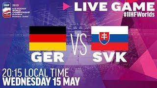 Germany vs. Slovakia | Full Game | 2019 IIHF Ice Hockey World Championship